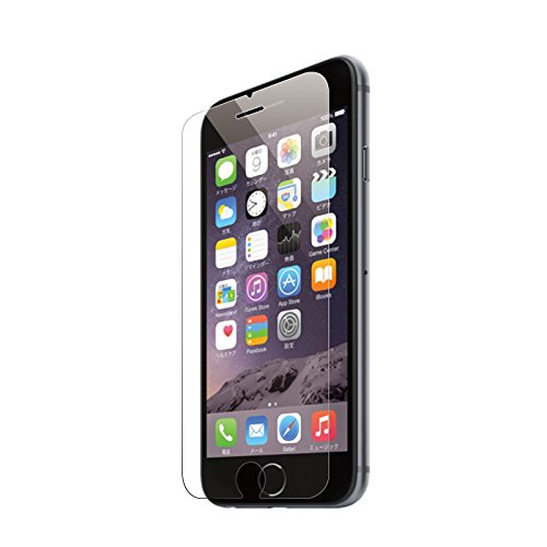 iPhone 6s 6 ガラスフィルム 液晶保護フィルム 4.7インチ フィルム 強化ガラス 硬度9H ラウンドエッジ DOLPHIN47 EDGE