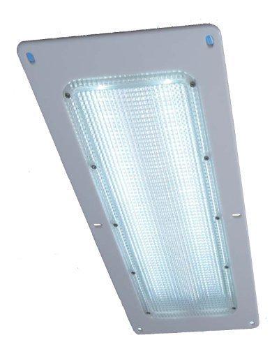 【衝撃の明るさ!!】LED庫内灯〈完全防水型〉 取り付け簡単!ほとんどのトラック庫内の既設蛍光灯取り...