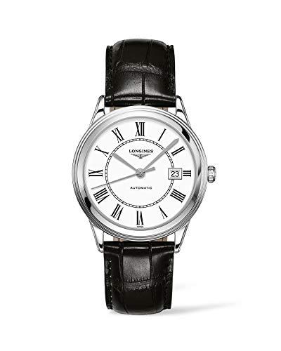 [ロンジン]LONGINES 腕時計 フラッグシップ 自動巻き L4.974.4.21.2 メンズ 【正規輸入品】