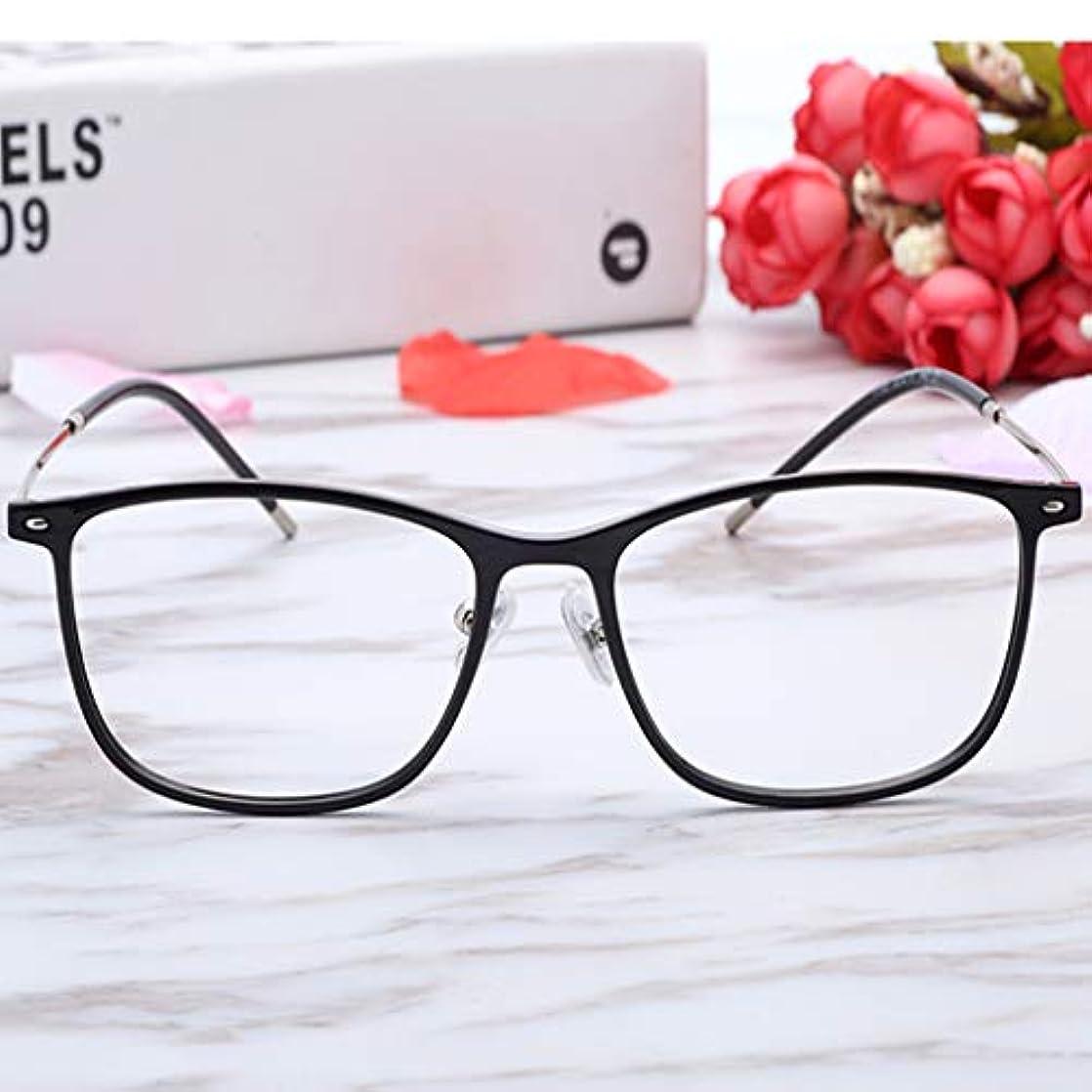 犯罪選択フロントスタイリッシュな超軽量高精細アンチブルー老眼鏡、抗放射線、抗UV、アンチめまい、ユニセックス。