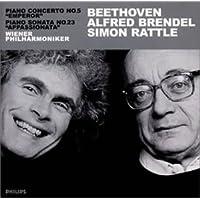 ベートーヴェン:ピアノ協奏曲第5番「皇帝」、ピアノ・ソナタ第23番「熱情」