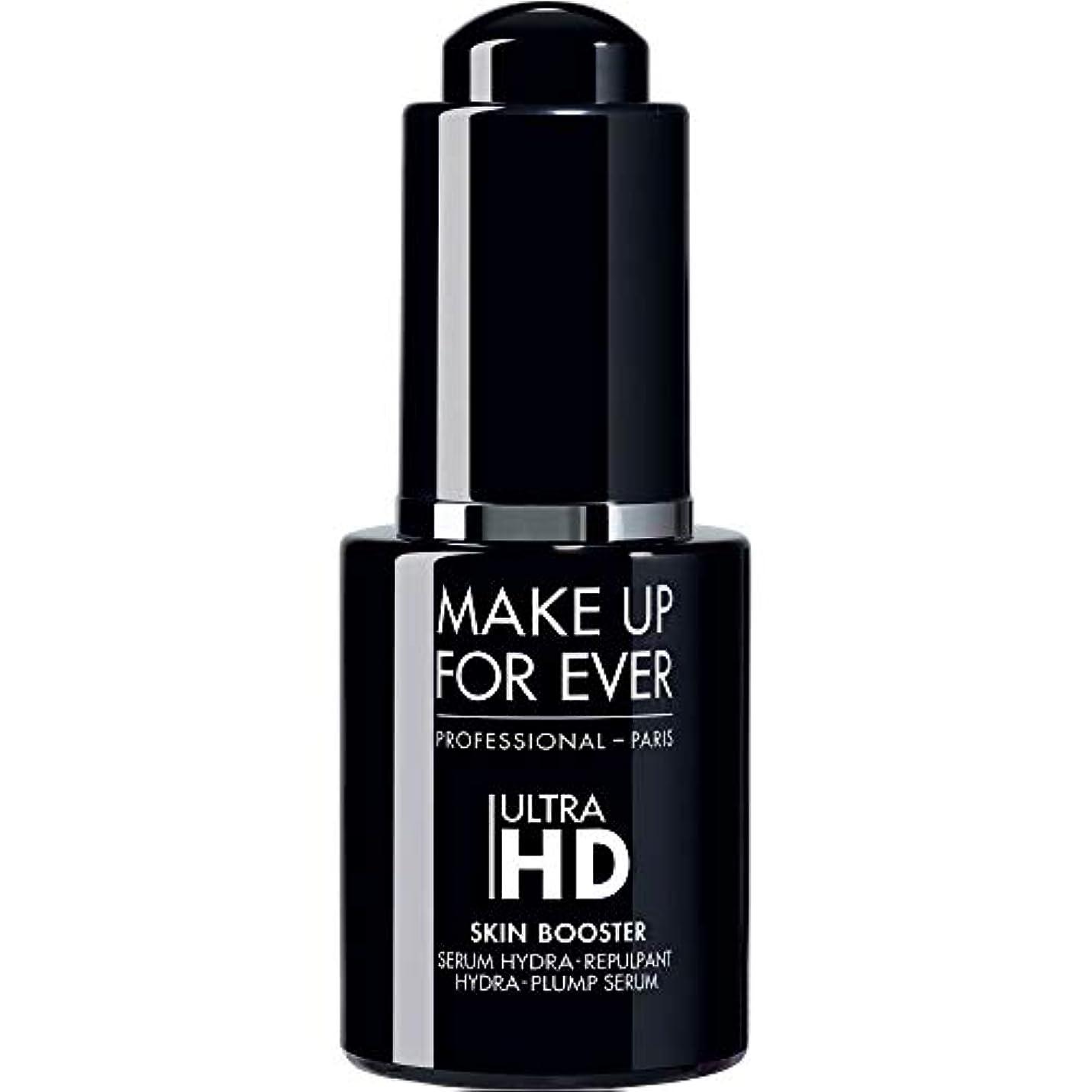 追跡悩み電気の[MAKE UP FOR EVER] これまで超のHdスキンブースターヒドラ-ふっくら血清12ミリリットルを補います - MAKE UP FOR EVER Ultra HD Skin Booster Hydra-Plump Serum 12ml [並行輸入品]