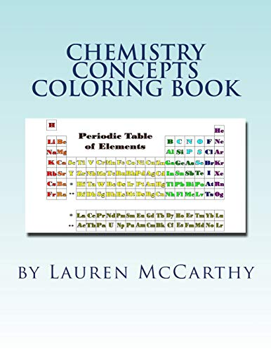 Download Chemistry Concepts Coloring Book 0692182608