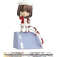 "Megumi Kato [ Heroine Outfit ver。]: ~ 3.9"" Saekano : How to Raise a Boring Girlfriend XねんどろいどMiniアクションフィギュア+ 1アニメテーマTradingカードバンドル"