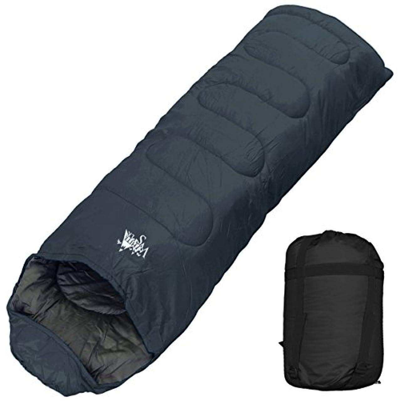 改善する代表面積archi 寝袋 シュラフ 封筒型 コンパクト収納 丸洗い 抗菌仕様 最低使用温度-15℃ 1800