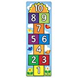 Melissa & Doug Hop and Count Hopscotch Game Rug