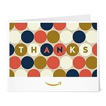 Amazonギフト券- 印刷タイプ(PDF) - ありがとう(ドット)
