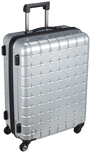 [プロテカ] Proteca スーツケース 日本製 360s(スリーシックスティエス)メタリック 3年保証 サイレントキャスター 60cm 61L 02723 11 (シルバー)