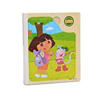Jigsaw Puzzle for Kids,C.A.Z 66 Piece Cartoon Figure Wood Jigsaw Puzzle Story Book for Age 1-6 Years Old Little Kids
