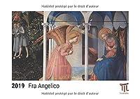 Fra Angelico 2019 - Calendrier de bureau Timokrates, calendrier photo, calendrier photo - DIN A5 (21 x 15 cm)