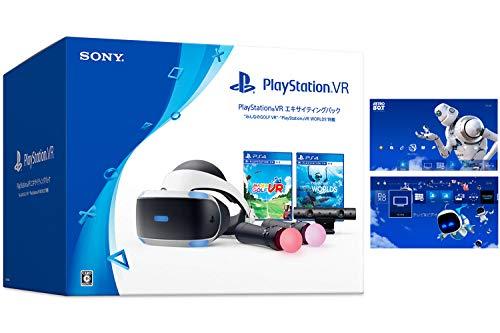 "PlayStation VR エキサイティングパック ""みんなのGOLF VR""・""PlayStation VR WORLDS"" 同梱 (CUHJ-16008) 【Amazon.co.jp限定】オリジナルカスタムテーマ 配信"
