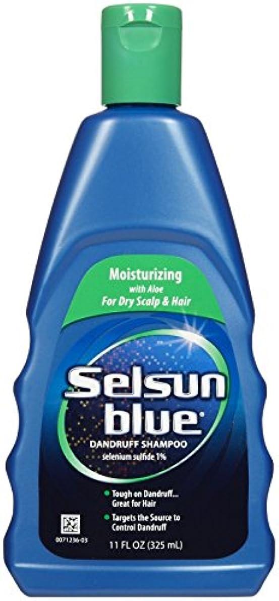 ハンディ刺激する泥沼Selsun Blue Naturals Dandruff Shampoo Moisturizing 325 ml (並行輸入品)