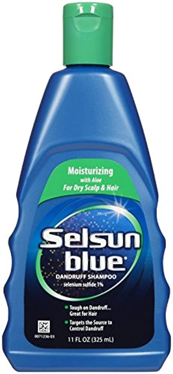 無謀高度ブリリアントSelsun Blue Naturals Dandruff Shampoo Moisturizing 325 ml (並行輸入品)