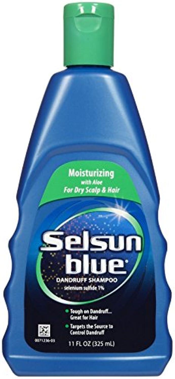 女の子みなさんブローSelsun Blue Naturals Dandruff Shampoo Moisturizing 325 ml (並行輸入品)