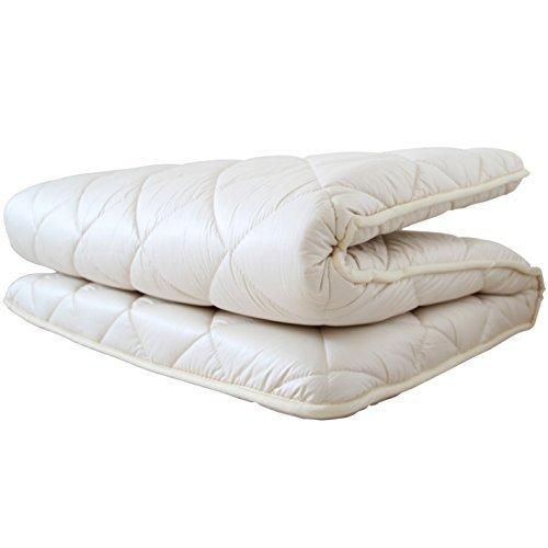 APHRODITA(アプロディーテ) 敷き布団 100cm×200cm シングル 防ダニ 超ボリューム 極厚タイプ 綿100% 日本製