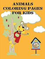Animals Coloring Pages For Kids: Super Cute Kawaii Coloring Books (Animals Inspiration)