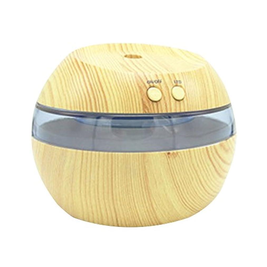 吸収剤コントラスト妊娠したCozyrom 超音波式 USB給電 空焚き防止 自動停止機能 車内用 部屋用 木目調 290ML スタイル2