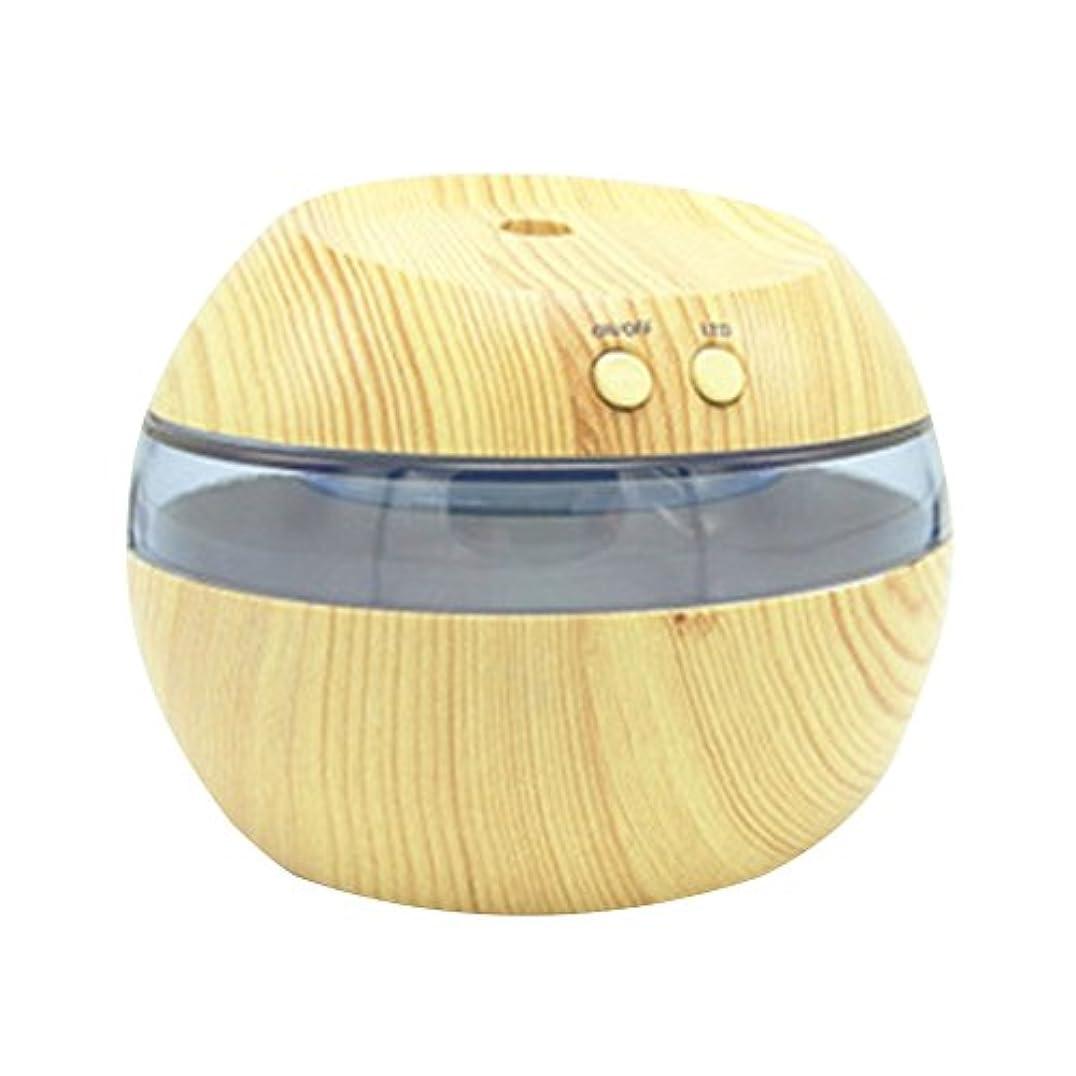 衣装自殺動物Cozyrom 超音波式 USB給電 空焚き防止 自動停止機能 車内用 部屋用 木目調 290ML スタイル2