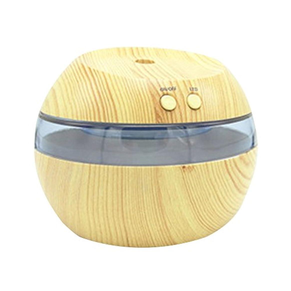 アニメーション横にペニーCozyrom 超音波式 USB給電 空焚き防止 自動停止機能 車内用 部屋用 木目調 290ML スタイル2