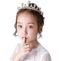 Tiara Kids Crown Headdress Princess Hair Accessories Gift Accessories Crown Girl Performing Headband Crown