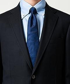 Canonico Royal Oxford Wool Jacket 3122-110-0421: Navy