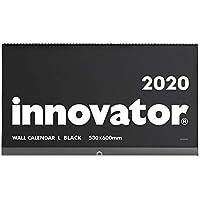 イノベーター 2020年 カレンダー 壁掛け L 黒 30916006