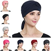 Alnorm Bamboo Turban Headwrap for Women – Breathable, Comfortable, Stylish Chemo Headwear Gifts