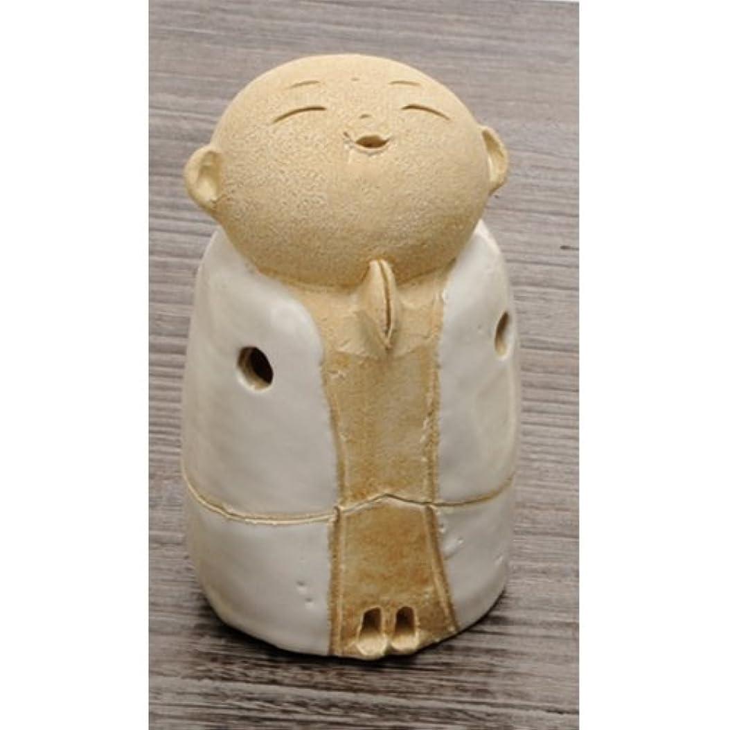 一族松の木暖炉お地蔵様 香炉シリーズ 白 お地蔵様 香炉 3.5寸(小) [H10cm] HANDMADE プレゼント ギフト 和食器 かわいい インテリア
