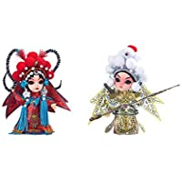 クリエイティブなかわいい工芸中国北京オペラ人形の装飾