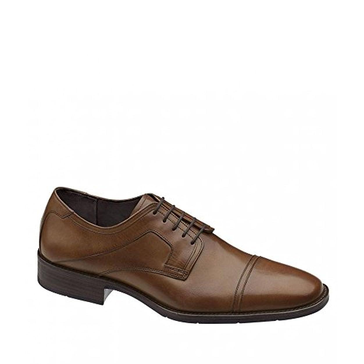 数字キャビン許可する(ジョンストン&マーフィー) Johnston & Murphy メンズ シューズ?靴 革靴?ビジネスシューズ Larsey Cap-Toe Dress Shoes [並行輸入品]