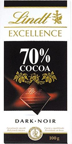高カカオチョコレートのリンツエクセレンス70%