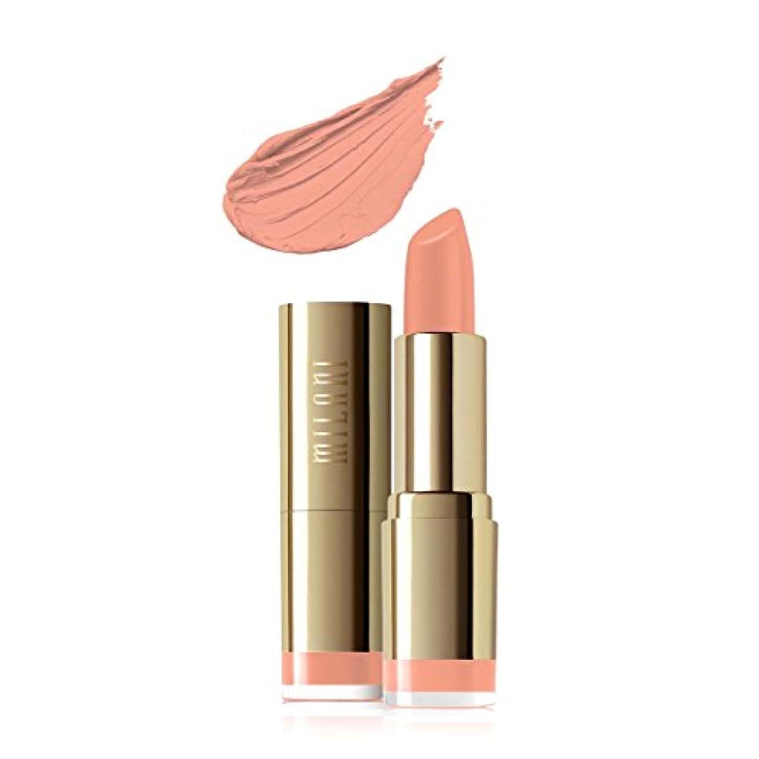 ウェーハ項目旅行代理店MILANI Color Statement Moisture Matte Lipstick - Matte Innocence (Vegan) (並行輸入品)