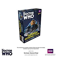 Doctor Who Sontaran General Staal Box - Metal