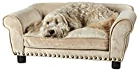Enchanted Home Pet Dreamcatcher Dog Bed, 33.5 by 21 by 12.5-Inch, Caramel by Enchanted Home Pet
