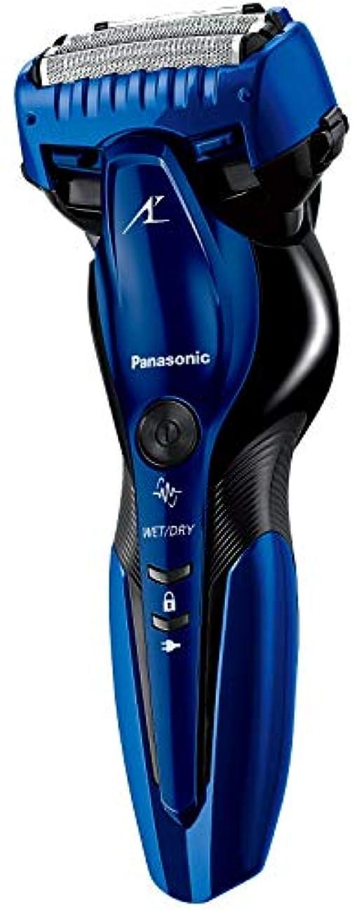 より本能種パナソニック ラムダッシュ メンズシェーバー 3枚刃 お風呂剃り可 青 ES-ST8R-A