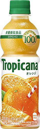 キリン トロピカーナ 100%オレンジ PET(330ml×24本)