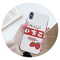 8プラス携帯電話ケース用For Apple xsmaxマットエンボスソフトシリコン,白のいちご,OPPO R9P