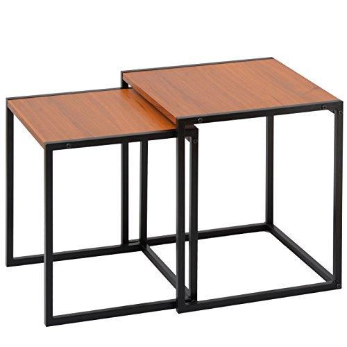 ワイエムワールド コンパクトデザイン家具 ピース ネストテーブル 34-062