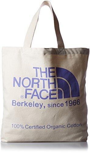 [ザ・ノース・フェイス]トートバッグ TNF Organic Cotton Tote ナチュラル×ラベンデュラパープル