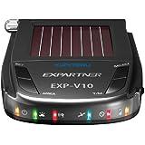 ユピテル(YUPITERU) GPSアンテナ搭載サンバイザー取付コードレスレーダー探知機 EXP-V10