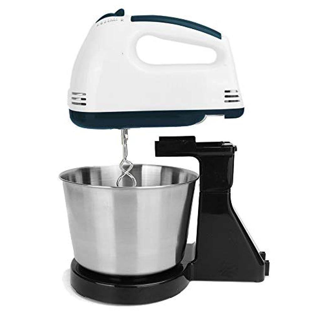 追記スナップ静けさ7 Speed Egg Beater Electric Kitchen Food Mixer Table &Stand Cake Dough Mixer Handheld Blender Baking Whipping Cream Machine