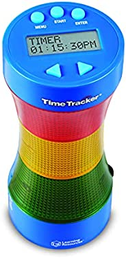 Learning Resources Time Tracker Visual Timer & Clock,