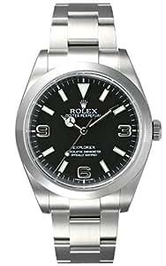 (ロレックス) ROLEX 腕時計 エクスプローラー1 214270 ブラック メンズ [並行輸入品]