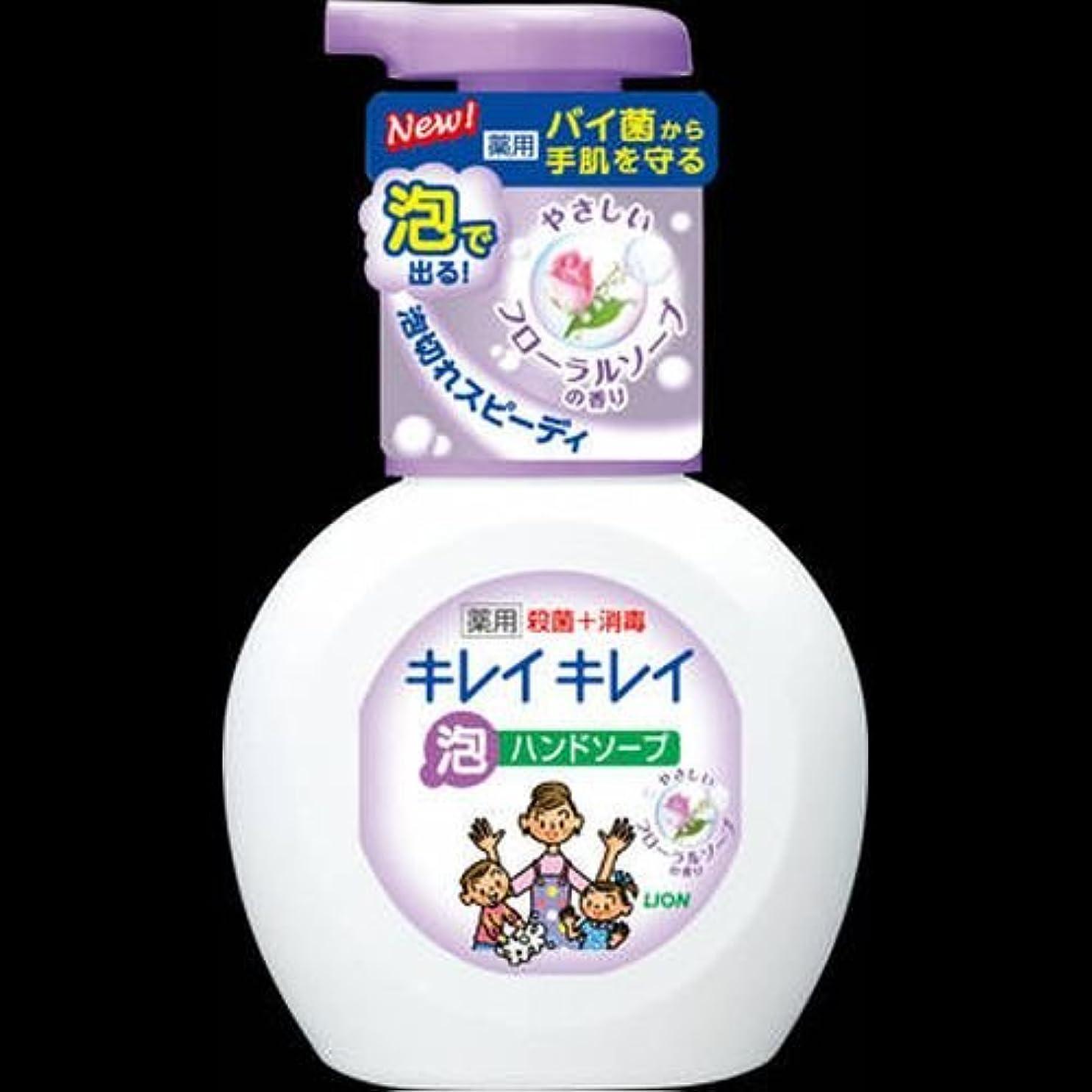 ブラザーかかわらず小数キレイキレイ 薬用泡ハンドソープ フローラルソープの香り ポンプ 250mL ×2セット