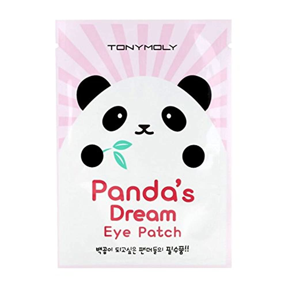 我慢する賛辞安全でない(3 Pack) TONYMOLY Panda's Dream Eye Patch (並行輸入品)