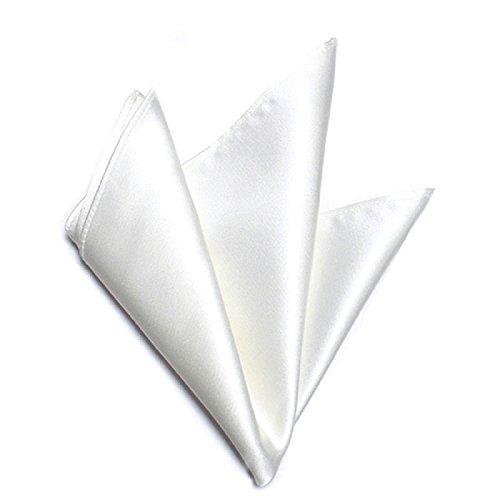 (Style=) スタイルイコール ポケットチーフ 京都シルク100% 白無地 メンズ 結婚式 パーティ フォーマル 【ホワイト -s】