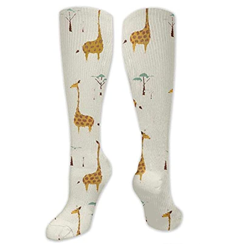 留め金間に合わせ露出度の高い靴下,ストッキング,野生のジョーカー,実際,秋の本質,冬必須,サマーウェア&RBXAA Nature Style Giraffes Socks Women's Winter Cotton Long Tube Socks...
