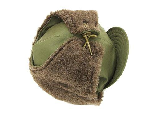 (バズリクソンズ) Buzz Rickson's BR02538 M-1951 フィールドキャップ メンズ 耳当て付き帽子 (7 1/4 (頭まわり 約58cm))