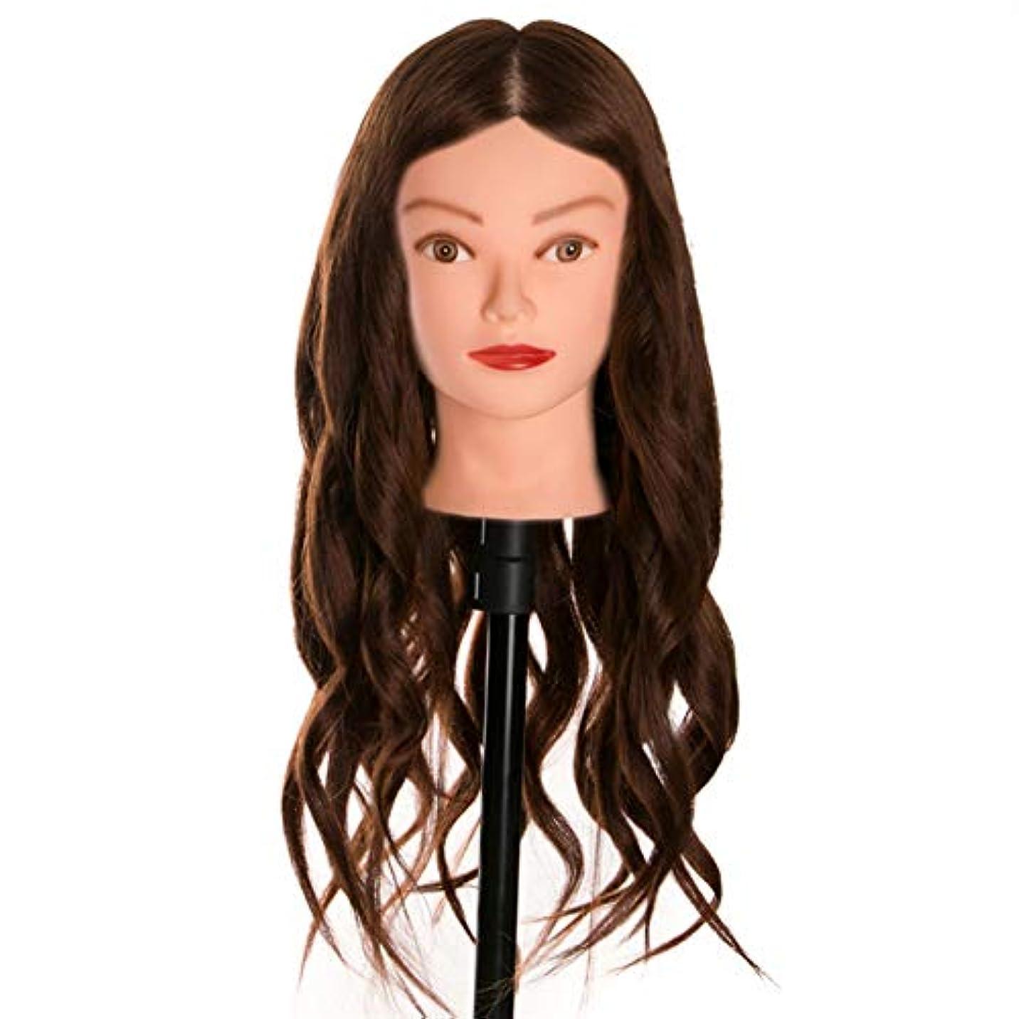 リースメルボルン支給理髪サロンエクササイズヘッド金型メイクディスクヘアスタイリング編み教育ダミーヘッドヘアカットトレーニングかつら金型3個