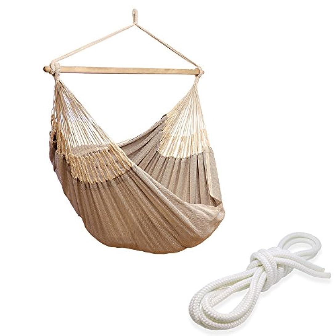 屋内で出身地貝殻ハンモックチェア ロープ (白?3m付属) 室内 すさび Susabi 特大サイズのハンモックチェアー?グランデ